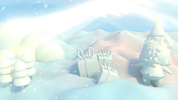 Thumbnail for 3D Toon Sweet Marshmallow Santa