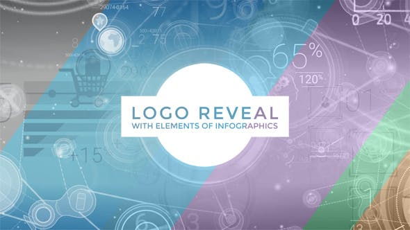 Thumbnail for Logo Reveal With Elements Of Infographics