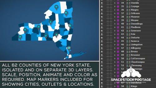 New York Map Kit