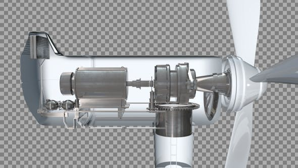Thumbnail for Wind Turbine - Detailed