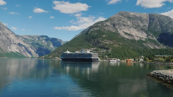 Thumbnail for Drive Along the Picturesque Coast of the Fjord