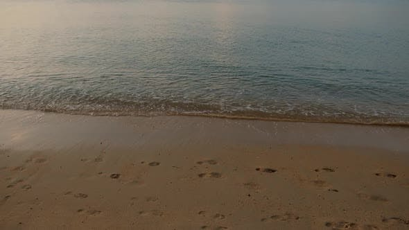 Thumbnail for Ko Samui Beach Sea Thailand. Landscapes View of Beach Sea Sand and Sky in Summer Day. Beach Sea