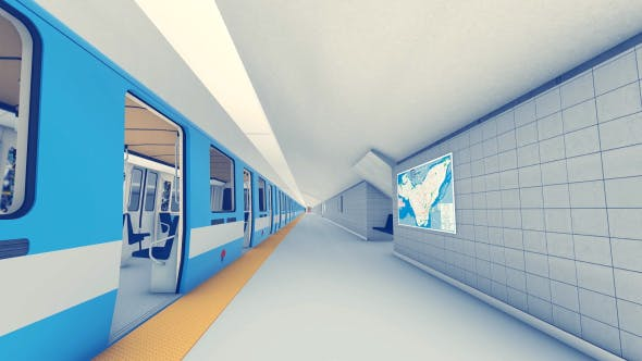 Thumbnail for Metro Station - Subway Architecture
