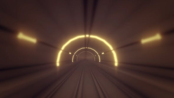 Subway Tube - Metro Tunnel