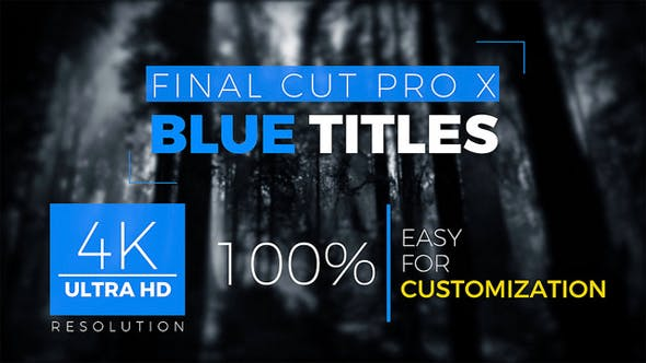 Cover Image for FCPX Titles 4k