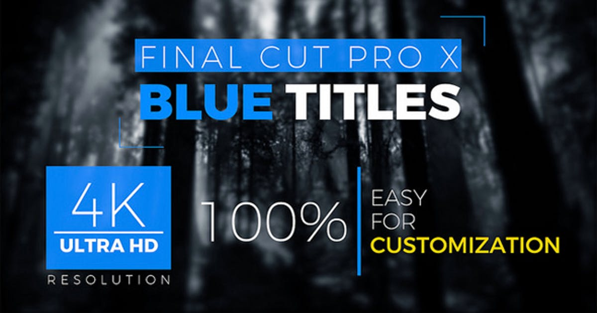 Download FCPX Titles 4k by miseld