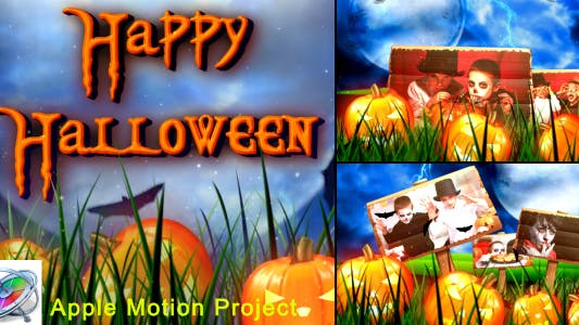 Thumbnail for Halloween - Apple Motion