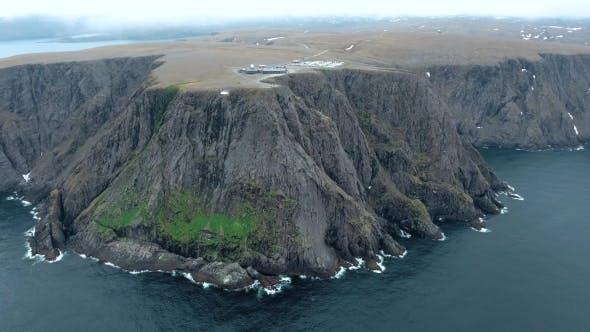 North Cape (Nordkapp) In Northern Norway.