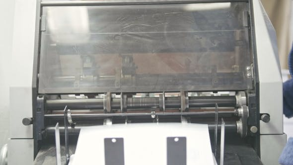 Thumbnail for Work Printing Machine, Polygraph Industry, Front View