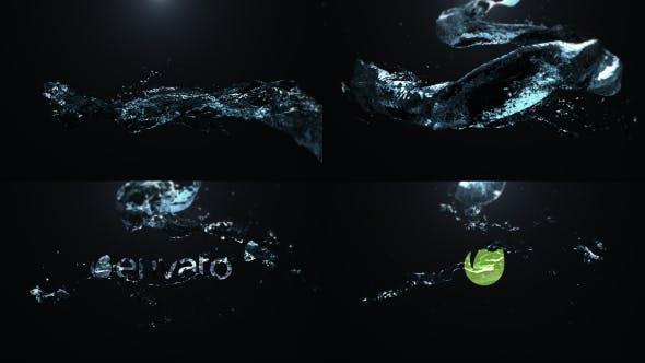 Thumbnail for Spiral Liquid Logo Reveal