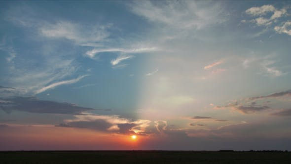 Thumbnail for Sunset in the Steppe