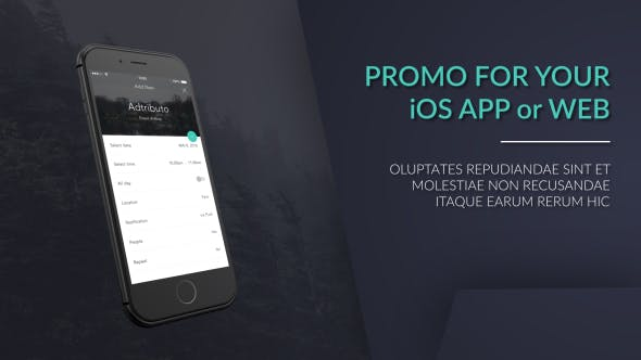 Thumbnail for iPhone Web / App Promo