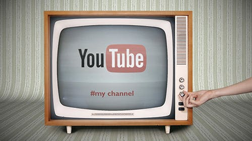 The Retro TV pack - 4in1 Logo or Video