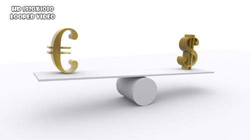 Teeter - Balance Of Euro And Dollar