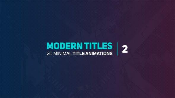 Thumbnail for Modern Titles 2