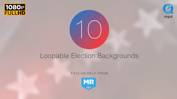 Thumbnail for Election News Backgrounds 2