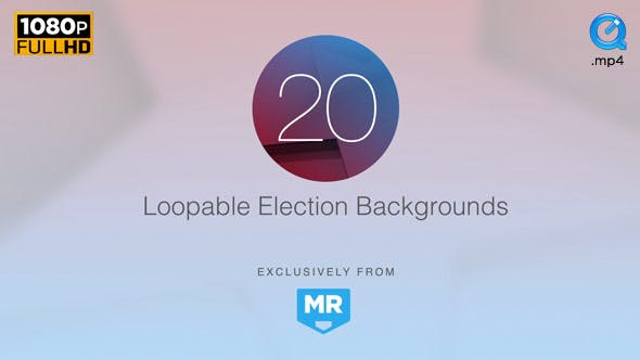 Thumbnail for Election News Backgrounds 1