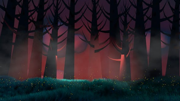 Cover Image for Fireflies And Forest