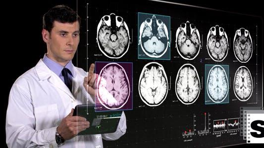 Medical Futuristic Screen