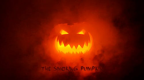 Halloween - The Smoking Pumpkin
