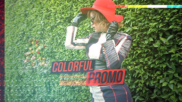 Thumbnail for Colorful Promo Video