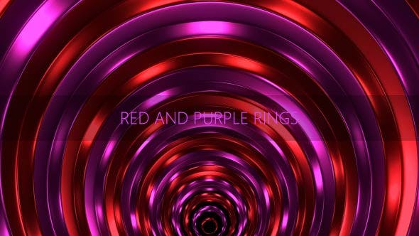 Cover Image for Red And Purple Rings