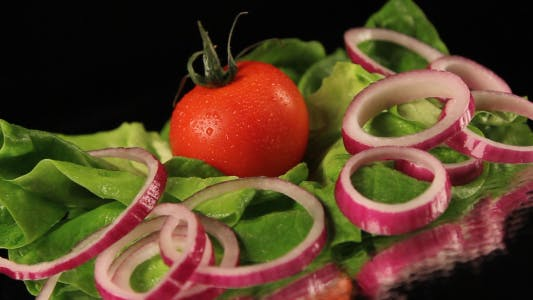 Thumbnail for Lettuce, Tomato And Onion Salad