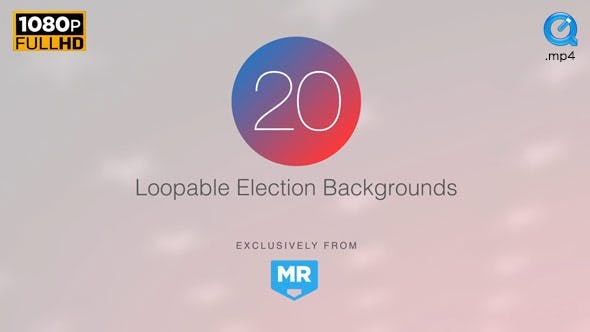 Thumbnail for Election News Backgrounds 3