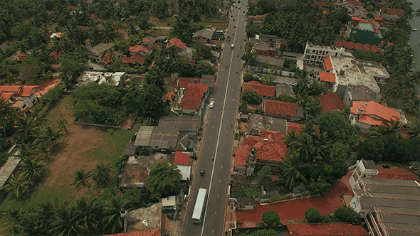 Flyover a Main Road