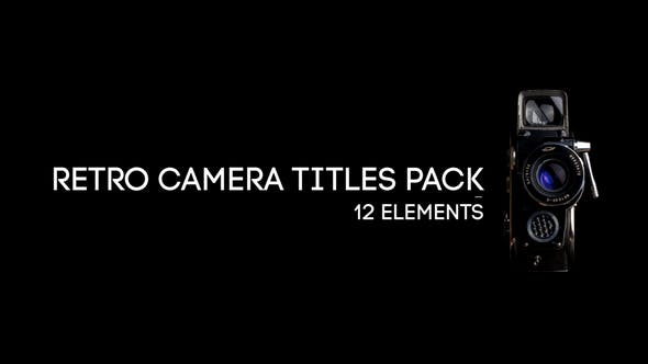 Retro Camera Titles Pack