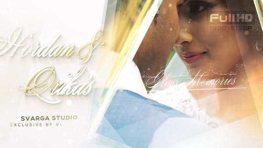 Cover Image for Glass Wedding Memories