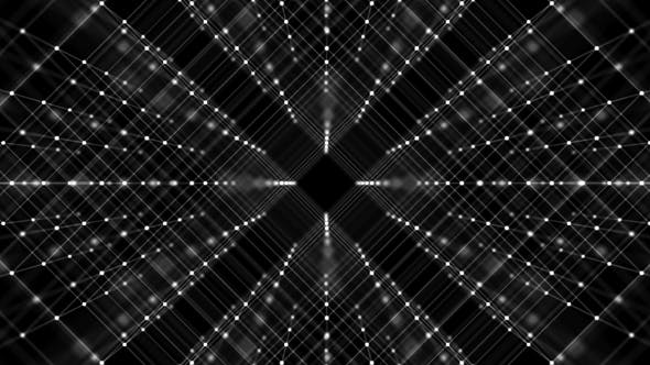 Cover Image for Network Of White Dots And Lines On Black Background
