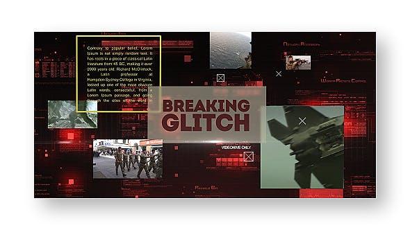 Thumbnail for Breaking Glitch Presentation Slideshow