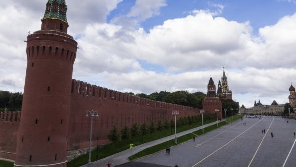 Thumbnail for Pan  Of Moscow Kremlin And The Red Square