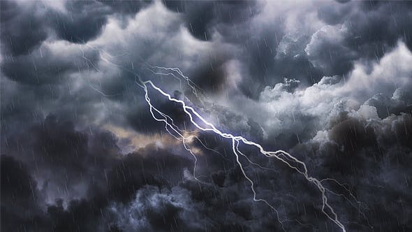 Thumbnail for Storm Clouds and Lightning