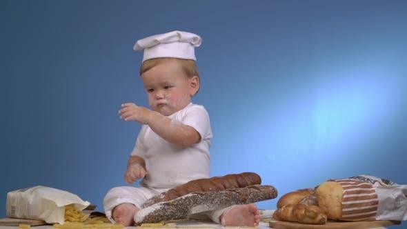 Thumbnail for Süße Baby-Bäcker spielen