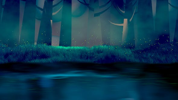 Thumbnail for Fireflies, Forest, And Lake