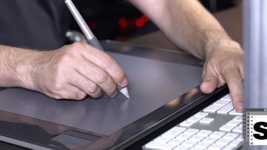 Digital Graphic Tablet