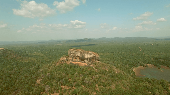 Thumbnail for Flying Around Sigiriya Rock