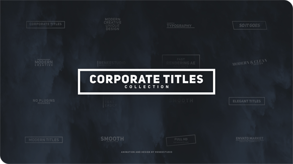 Thumbnail for Corporate Titles Pack