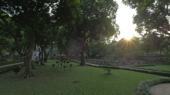 Thumbnail for Garden In The Temple Of Literature. Hanoi, Vietnam