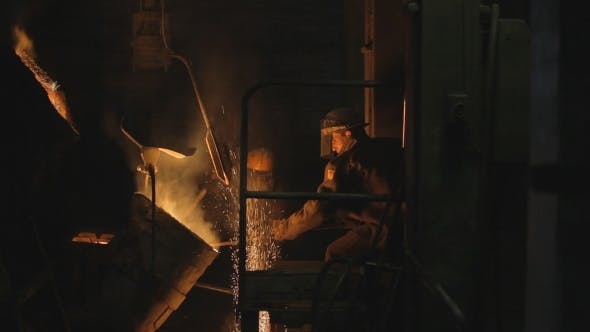 Thumbnail for Working in a Steel Mill