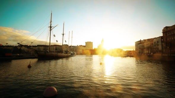 Thumbnail for Helsinki Landscape At Sunset
