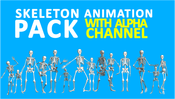 Thumbnail for Skeleton Animations Pack