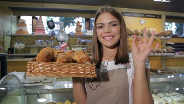 Thumbnail for Woman Smells Croissants