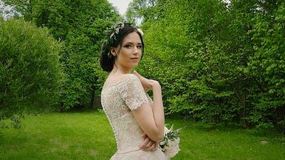 Happy Woman Bride