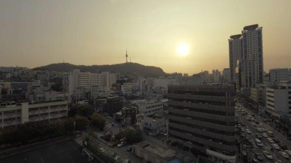 Thumbnail for Evening Cityscape Of Seoul, South Korea