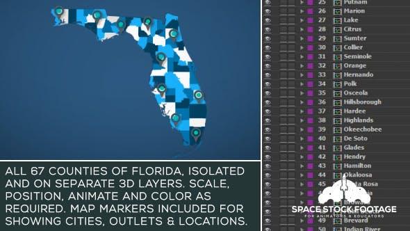 Florida Map Kit
