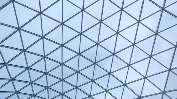 Overlapping Roof Of The Building