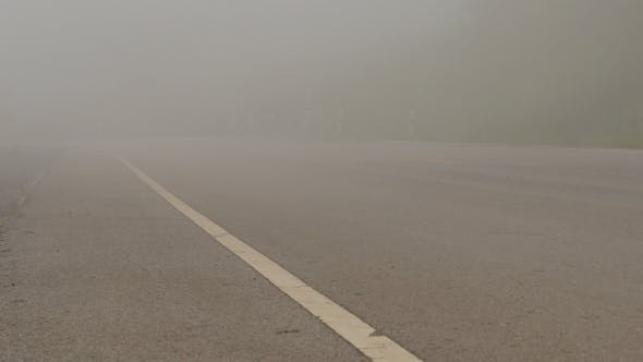 Cover Image for Fog On Road